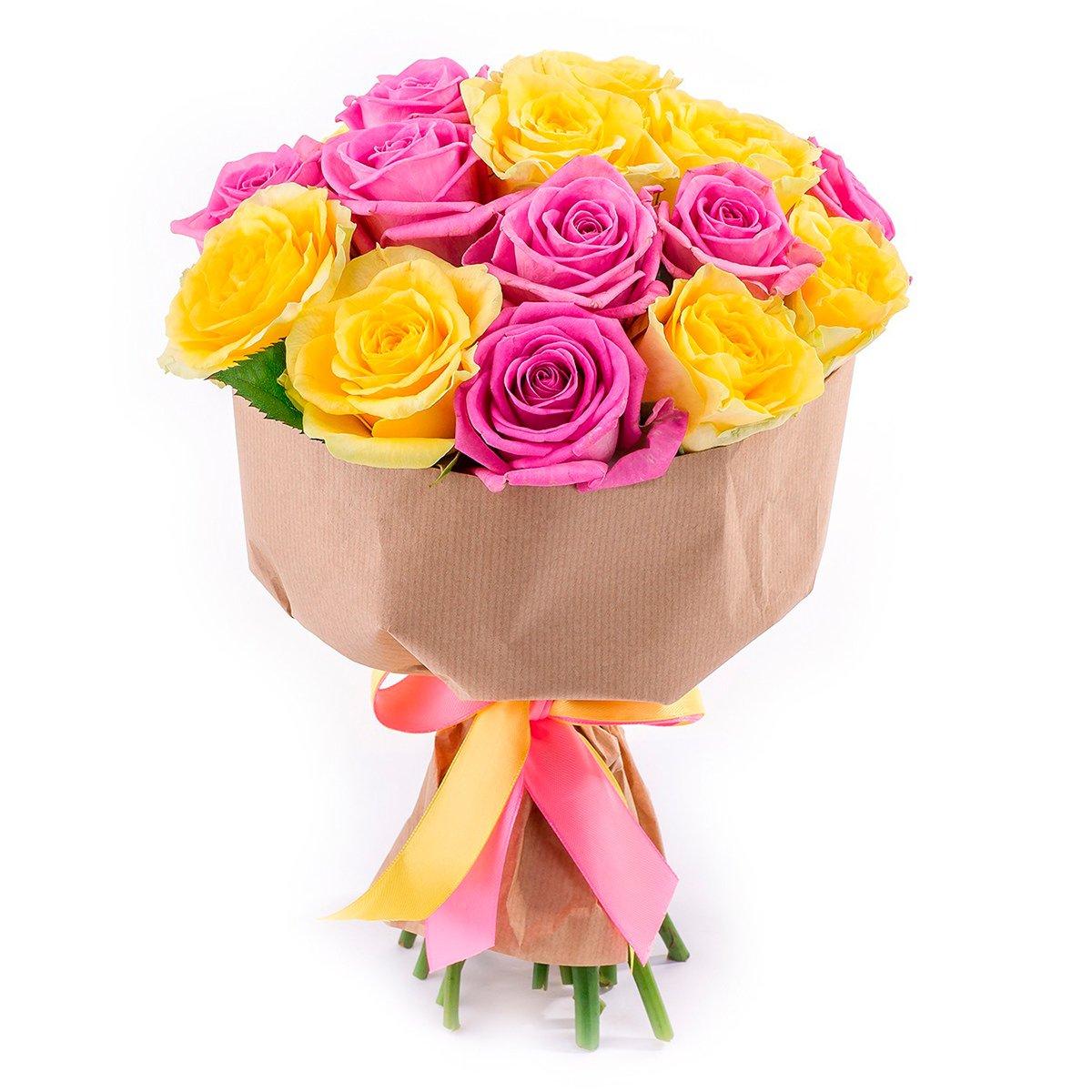 Цветов день, оригинально букети з троянди